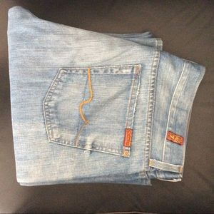 7 for all mankind men's jeans 34